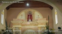 EPSAT - Hidalgo Turismo Religioso 29 de Julio Fiesta Patronal Parroquia San Pedro Jacuaro